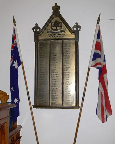 Noorat Parish War Memorial : 17-July-2011