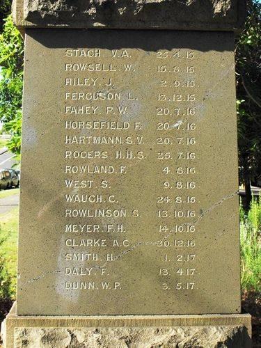 North Sydney Tramways War Memorial : 25-December-2010