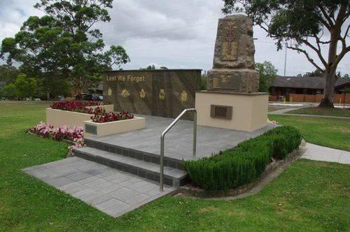 Oatley War Memorial Front : April 2014