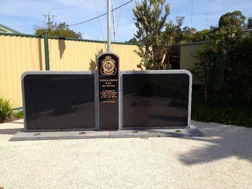 Ocean Grove RSL Memorial : December 2013