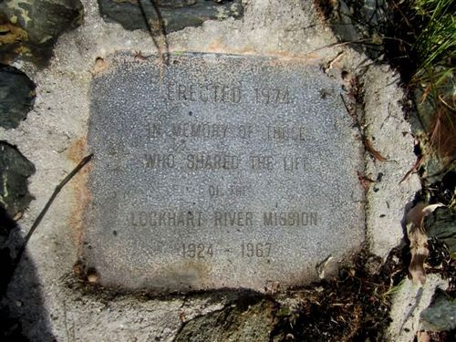 Lockhart River Mission Site Plaque : 29-11-2012