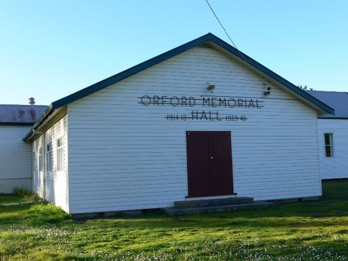 Orford Memorial Hall : 24-August-2011