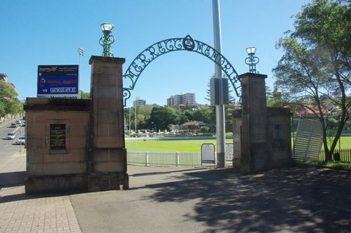 Merrett Memorial Gateway : December 2013