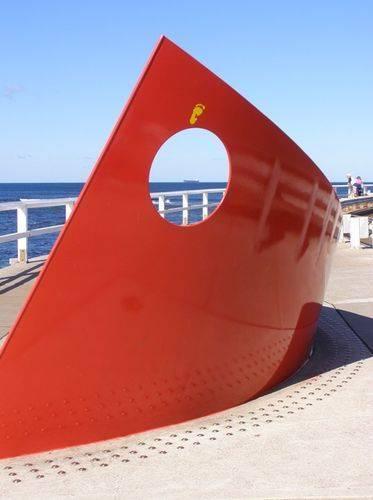 Pasha Bulker Sculpture : 16-July-2014