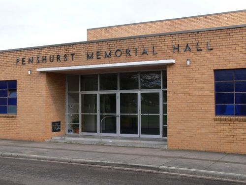 Penshurst Memorial Hall : 5-September-2011