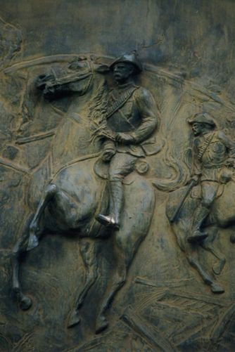 Perth South African War Memorial Frieze Detail