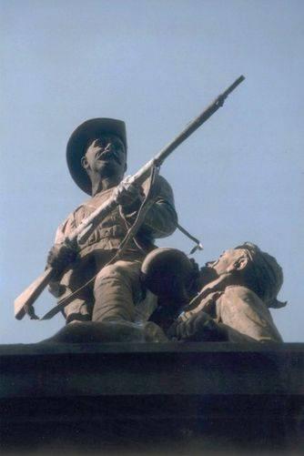 Perth South African War Statue closeup