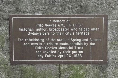 Phillip Geeves Plaque : November 2013