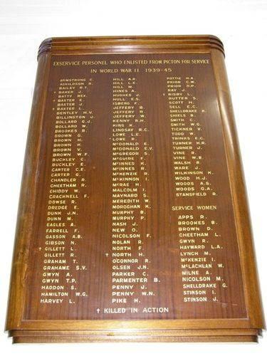 WW2 Honour Roll : 13-June-2014