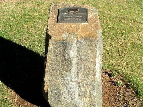 Pioneer Memorial Inscription Marker
