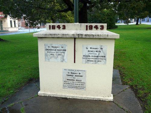 Pioneers Memorial : 18-August-2011