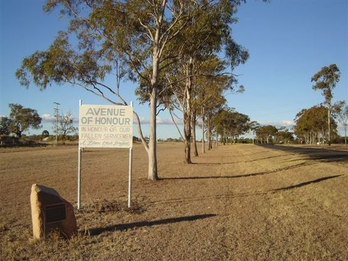 Pittsworth Avenue of Honour : 19-07-2006