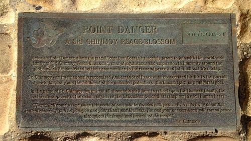 Point Danger Sri Chinmoy Plaque : November 2013