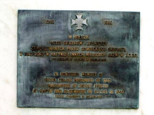 Polish POW Plaque