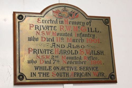 Private R McGill & Private H. Walsh : 29-September-2012