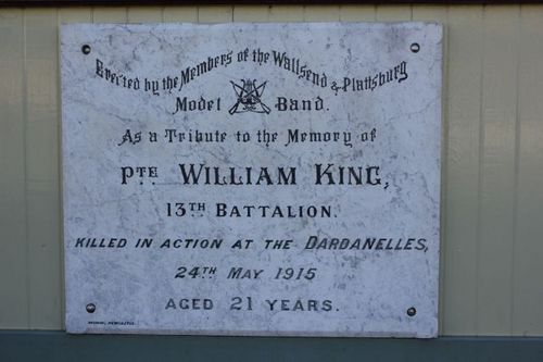 Private William King : 25-August-2011