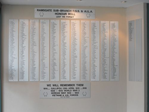 R.S.S.& A.I.L.A. Honour Roll : 22-August-2012