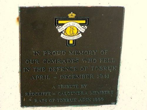 Rats of Tobruk Plaque