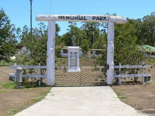 Ravenshoe Memorial Park Gates