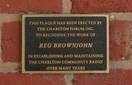 Reg Brownjohn : 08-June-2013