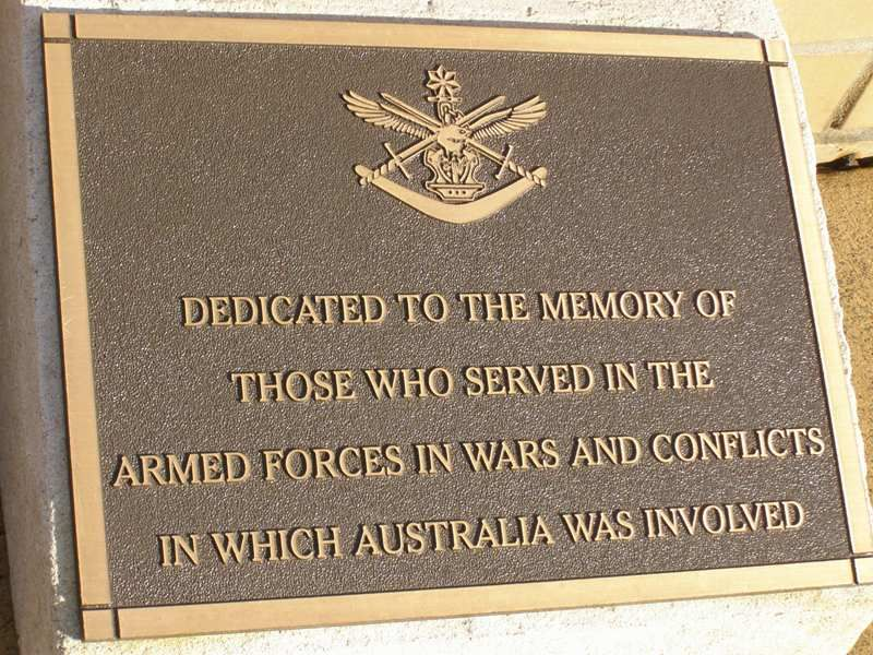 Commemoration Plaque : 16-September-2014