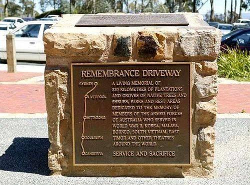 Remembrance Driveway Cairn