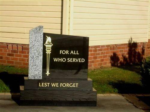 Remembrance Memorial : 11-07-2013