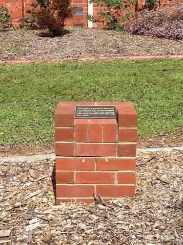 RSL Memorial Park Cairn : October 2013