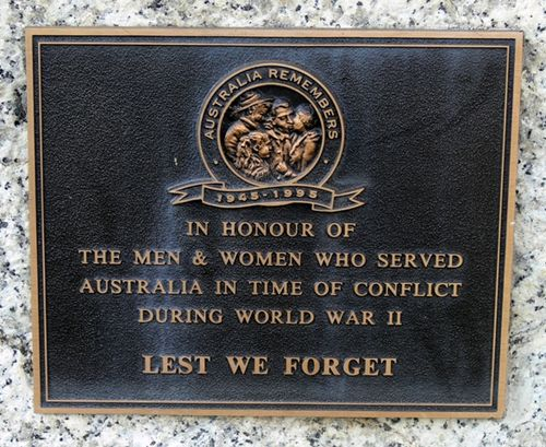 Returned Services League Memorial  : 16-May-2013