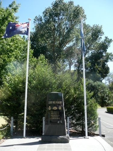 Returned Services League War Memorial : 01-February-2013