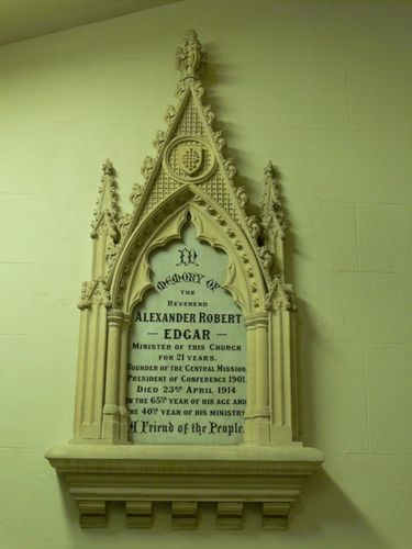 Reverend Alexander Edgar : 08-December-2011
