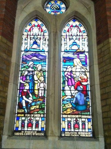 Reverend Samuel Lyons McKenzie : 14-July-2012