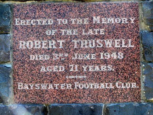 Robert Truswell : 26-November-2011