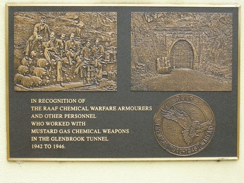 R.A.A.F. Chemical Warfare Armourers Plaque : 23-04-2014