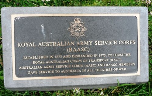 Royal Australian Army Service Corps : 24-October-2011