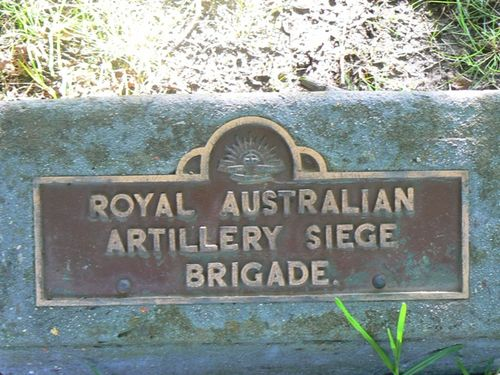 Royal Australian Artillery Siege Brigade : 23-September-2011