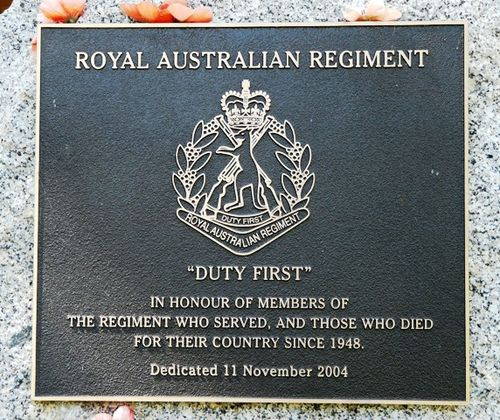 Royal Australian Regiment : 5-March-2012
