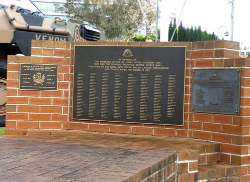 Lancers Memorial : 30-August-2014