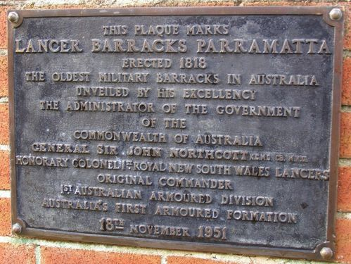 Lancer barracks Plaque : 30-August-2014