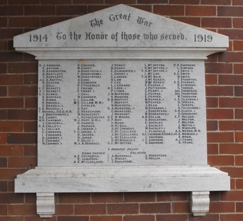 School of Arts Memorial Plaque : 17-January-2011