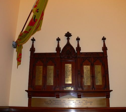 Scots Church War Memorial : 13-September-2011