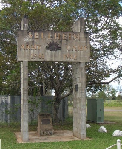 Sellheim Army Camp Memorial