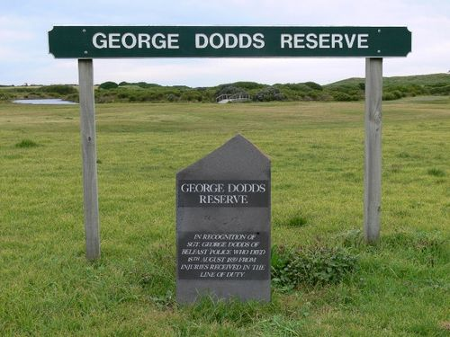 Sergeant George Dodds : 17-June-2011