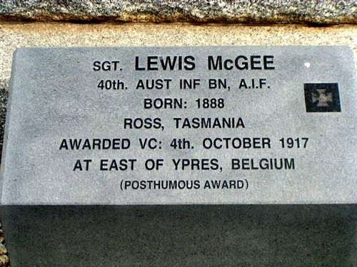 Sergeant Lewis McGee