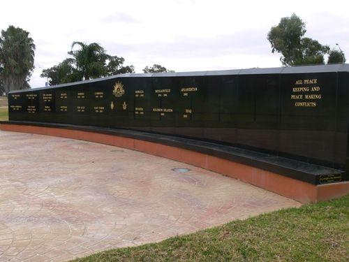 Services Club Memorial Wall : 19-July-2012