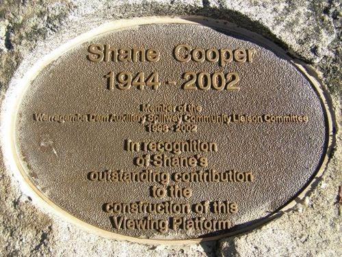 Shane Cooper Plaque : 14-June-2014