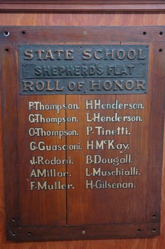 Shepherds Flat State School Honour Roll : 08-June-2013