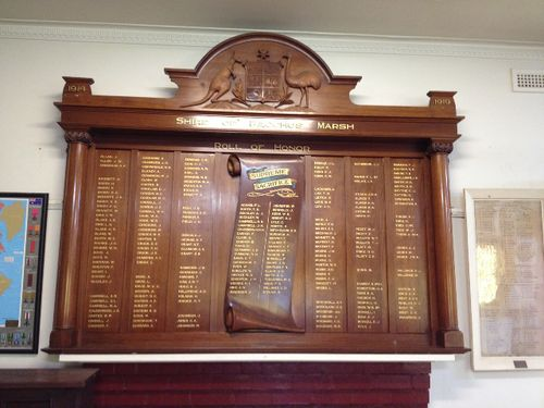 Shire of Bacchus Marsh Honour Roll ; October 2013