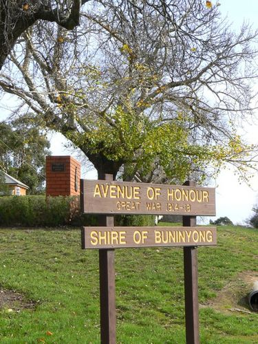 Shire of Buninyong Avenue of Honour