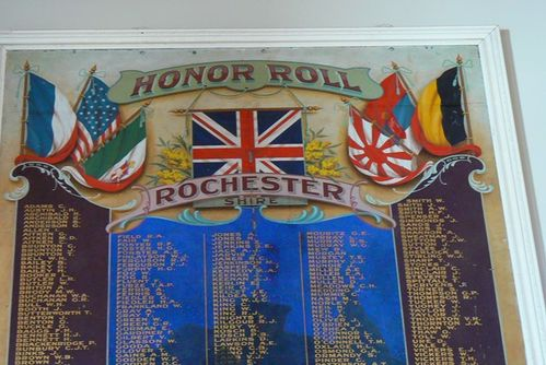 Shire of Rochester Honour Roll : 27-April-2013